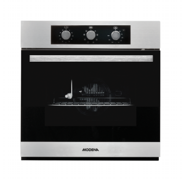 MODENA BO 3630 RASO - Oven Tanam Built-In Electric Oven 60 cm - Stainless Steel
