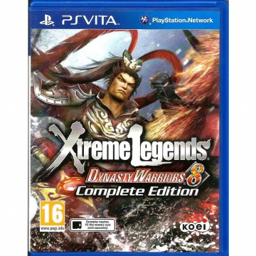 [Sony PS Vita] Dynasty Warrior 8 Xtreme Legends - Complete Edition