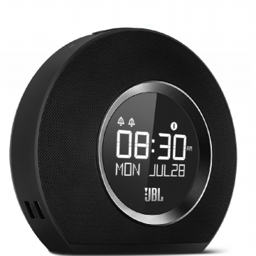 JBL Horizon Bluetooth clock radio with USB charging - Black