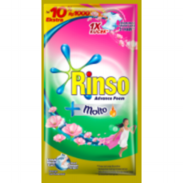 Rinso Molto Detergent Cair - 42 ml (6 pcs)