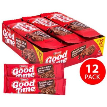 Good Time Biscuit Choco Chips - 12x16gr