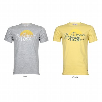 Hush Puppies Kaos T-Shirt Pria Sunset ML10726 | Available 2 Color