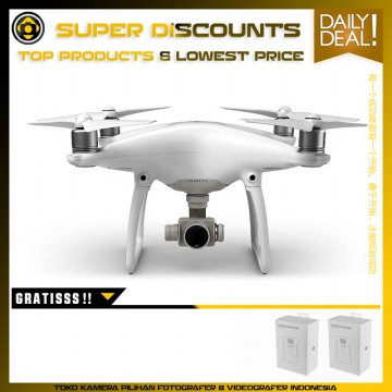 DJI Phantom 4 Free Bonus 2 Extra Battery