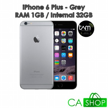 Apple iPhone 6 Plus 32GB - Grey - Baru NEW - Resmi TAM iBox