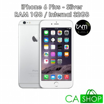 Apple iPhone 6 Plus 32GB - Silver - Baru NEW - Resmi TAM iBox