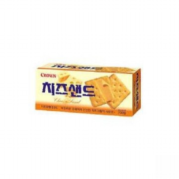 [SNACKS] CROWN - Cheese Sand Biscuit 60gr