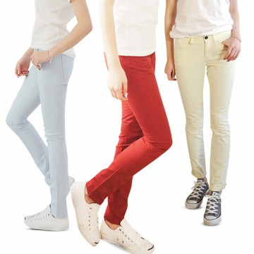[COUP] Authentic Korean Design / Women's Skinny Pants / celana wanita
