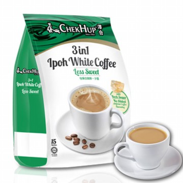ChekHup white coffee Less Sugar 15s Chek hup 3in1 ipoh white coffee