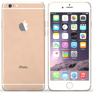 Apple iPhone 6 Plus 64gb Gold - Free Tempered Glass