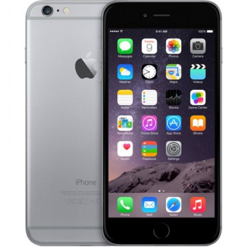 Apple iPhone 6 16 GB Grey / Free Tempered Glass