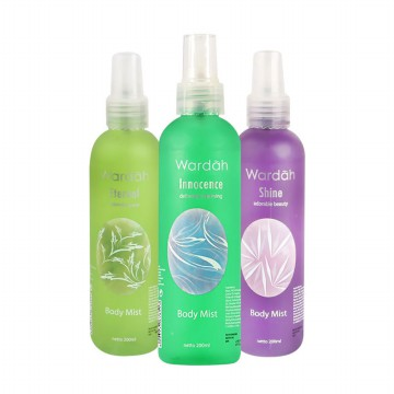 200ml Wardah Body Mist [5 VARIANT]