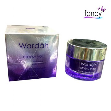 WARDAH RENEW YOU ANTI AGING NIGHT CREAM 30ml