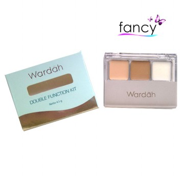Wardah Double Function Kit (Concealer - Eye Shadow)