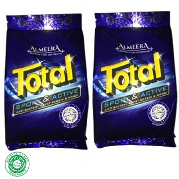 Total Deterjen Almeera TSP800 Sport And Active Pembersih Pakaian 800 gr Isi 2 Pouch