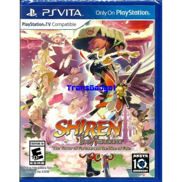[Sony PS Vita] Shiren The Wanderer: The Tower of Fortune and the Dice of Fate