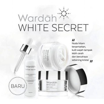 PAKET WARDAH WHITE SECRET CREAM 17ml