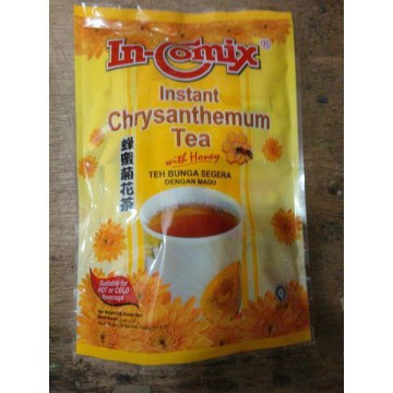 In-Comix Instant Chrysantheum Tea with Honey Teh Bunga Dengan Madu