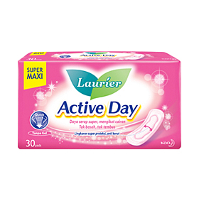Laurier Active Day Super Maxi 30's