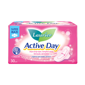 Laurier Active Day Super Maxi Wing 30's