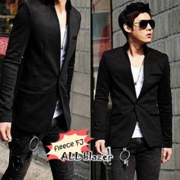 Blazer Black Alisson Men