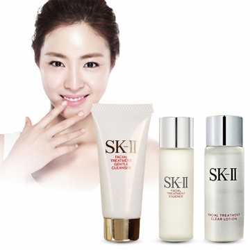 FIRST SET SK II (FTE 10ml Clear Lotion 10ml Gentle Cleanser6gr)