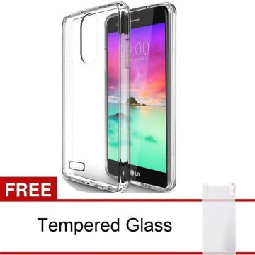 LG Stylus 3 / Stylo 3 SoftCase TPU Ultra Thin - Clear FREE Tempered Glass
