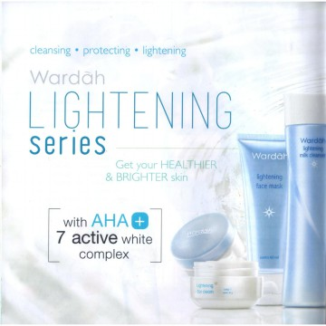 WARDAH PAKET LIGHTENING BASIC SERUM (Dengan Cream Tube 20ml)