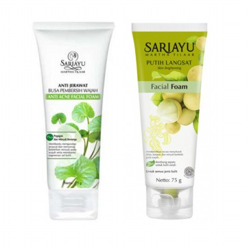 SARIAYU Facial Foam 75ml (Acne/Putih Langsat)