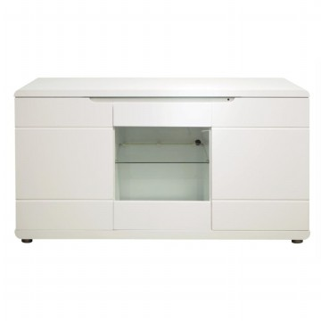 Anya-Living Bel Air Lemari Buffet / Sideboard White Glossy