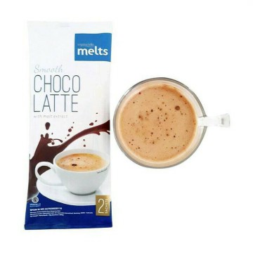 Smooth choco latte esprecielo melts with malt extract 2 sachet