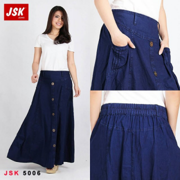 ROK JEANS - JSK-5006 JEANS NON STRETCH FULL CATTON | ALL SIZE 34 | RM00042R