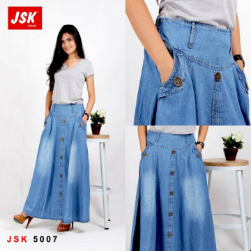 ROK JEANS - JSK-5007 JEANS NON STRETCH FULL CATTON PANJANG | ALL SIZE 34 | RM00043R