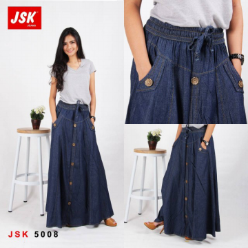 ROK JEANS - JSK-5008 JEANS NON STRETCH FULL CATTON | ALL SIZE 34 | RM00044R