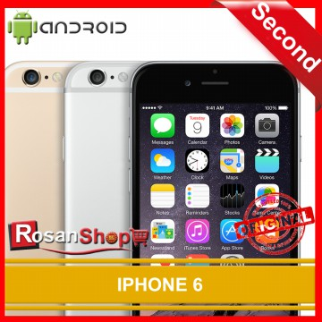 iPhone 6 128GB ORIGINAL 100% ( Second ) 98%