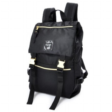 Anello Tas Ransel Buckle Nylon - Black