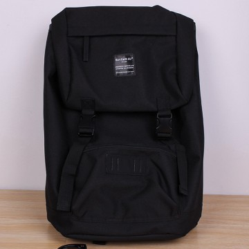 Anello Sun Earth And U Tas Ransel Roll Top - Black