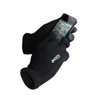 Sarung tangan motor touchscreen / iGlove Touch Gloves for Smartphones & Tablet - Black