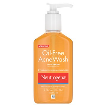 NEUTROGENA OIL FREE ACNE WASH 177 ML