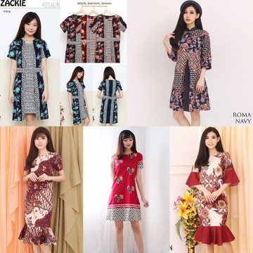 ANEKA DRESS BATIK - BAZAR ELEVENIA
