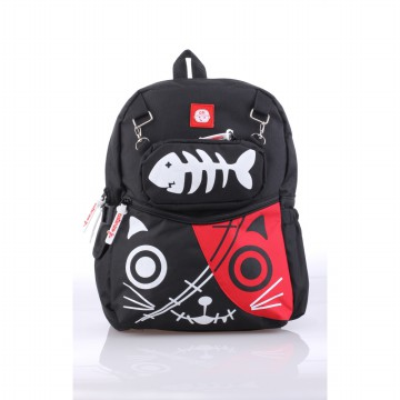 Catenzo Junior Tas Ransel Anak Black CMMx003 Zombie Cat