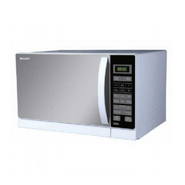 Sharp Microwave R-728(W)IN [25L/WHITE] Stylish Designed Microwave Oven FREE DELIVERY JABODETABEK