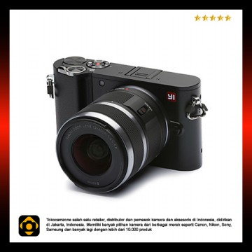 [PROMO SURABAYA] Xiaomi Yi M1 Mirrorless Kit 12-40mm - International Version - Black
