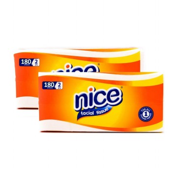 [1+1] NICE Tissue Softpack 180's