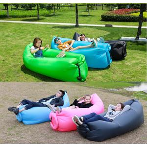 Sofa Angin Air Sofa Bed Lipat Travel Kantong Udara Santai Inflatable P