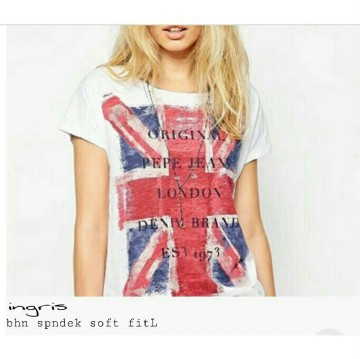 TENABANG OFFICIAL | UK TOP | LV00216R | KAOS WANITA TERBARU