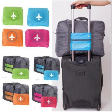 Hot Promo 45 FOLDABLE TRAVEL BAG /HAND CARRY TAS LIPAT / KOPER LUGGAGE ORGANIZER