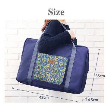 Hot Promo 281 FOLDABLE TRAVEL BAG /HAND CARRY TAS LIPAT / FOLDING BOSTON BAG