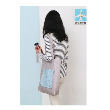 Hot Promo Korean Weekeight Folding Tote Bag / Tas Serbaguna Korea