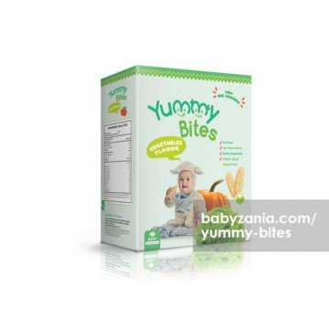 Yummy Bites Baby Rice Cracker 50 gram - Vegetables