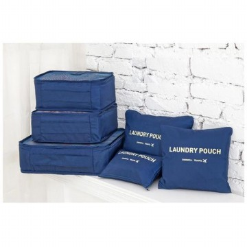 Laundry Pouch 6 in 1 Bag in Bag Travel Organizer Tas Penyekat